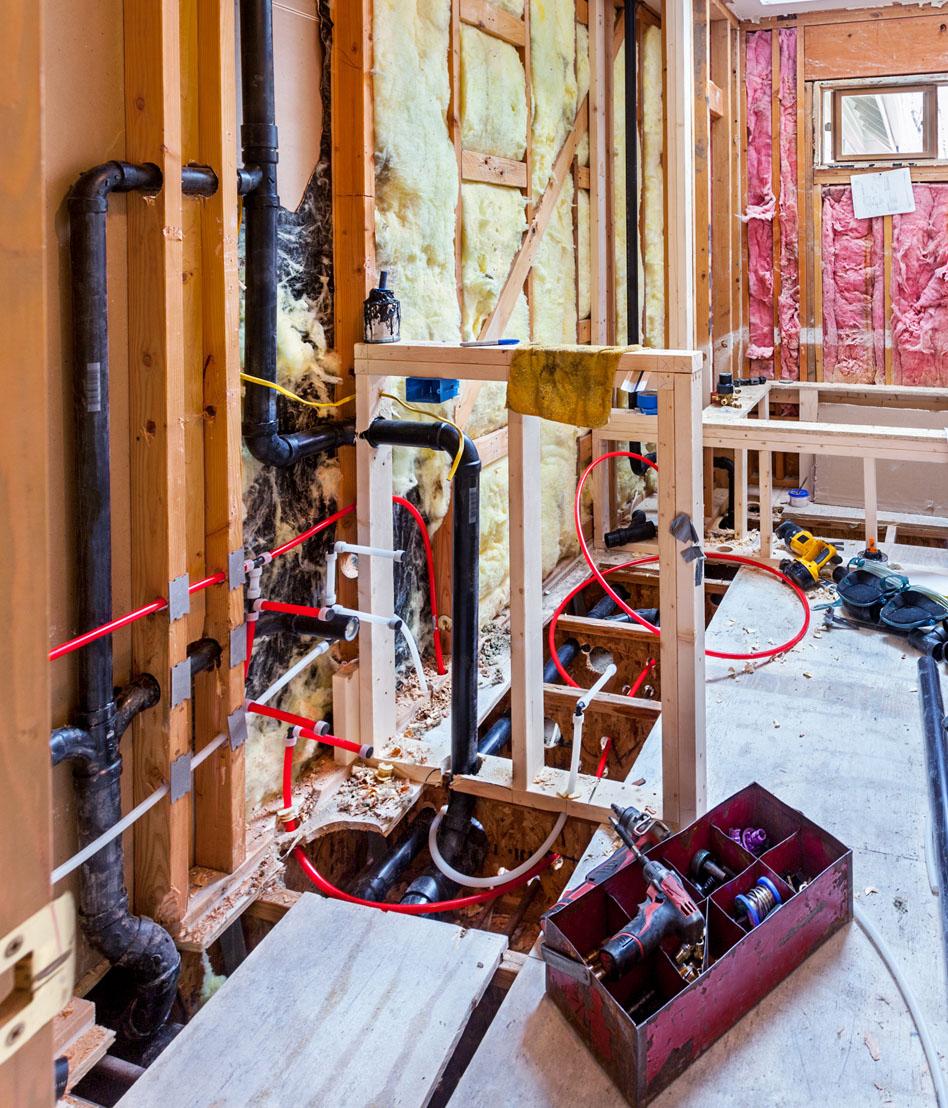 Remodel Plumbing Upgrades