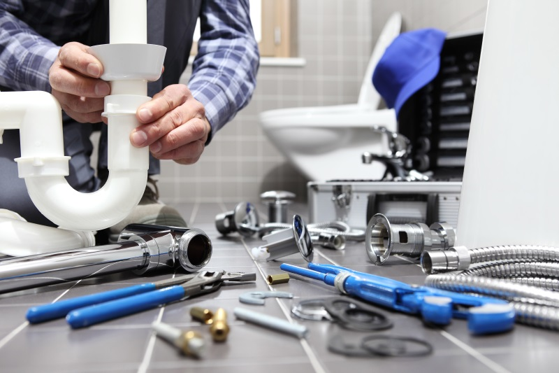 new plumbing installs