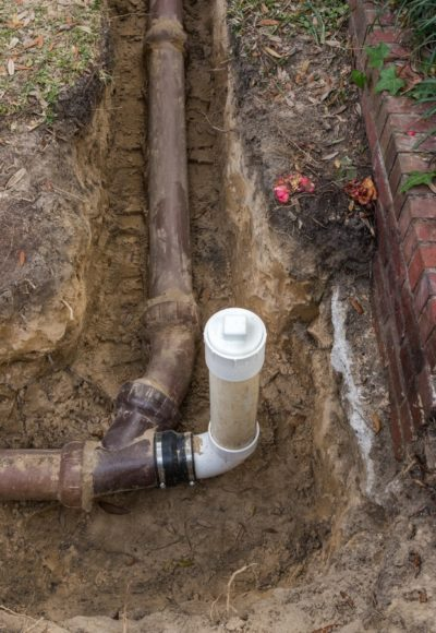 Sewer Cleanout Installation