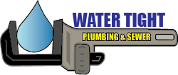 Water Tight Plumbing Logo